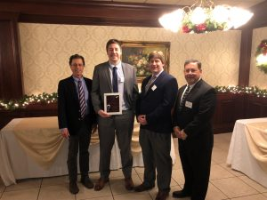 DiSalvo Engineering 2018 ACEC/CT Engineering Excellence Award Winning Team